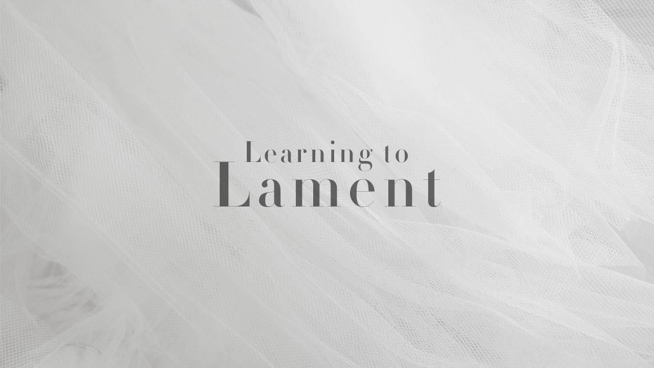 Learning to Lament, Psalm 13 & Various Passages